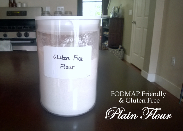 FODMAP Friendly and Gluten Free Plain Flour Blend
